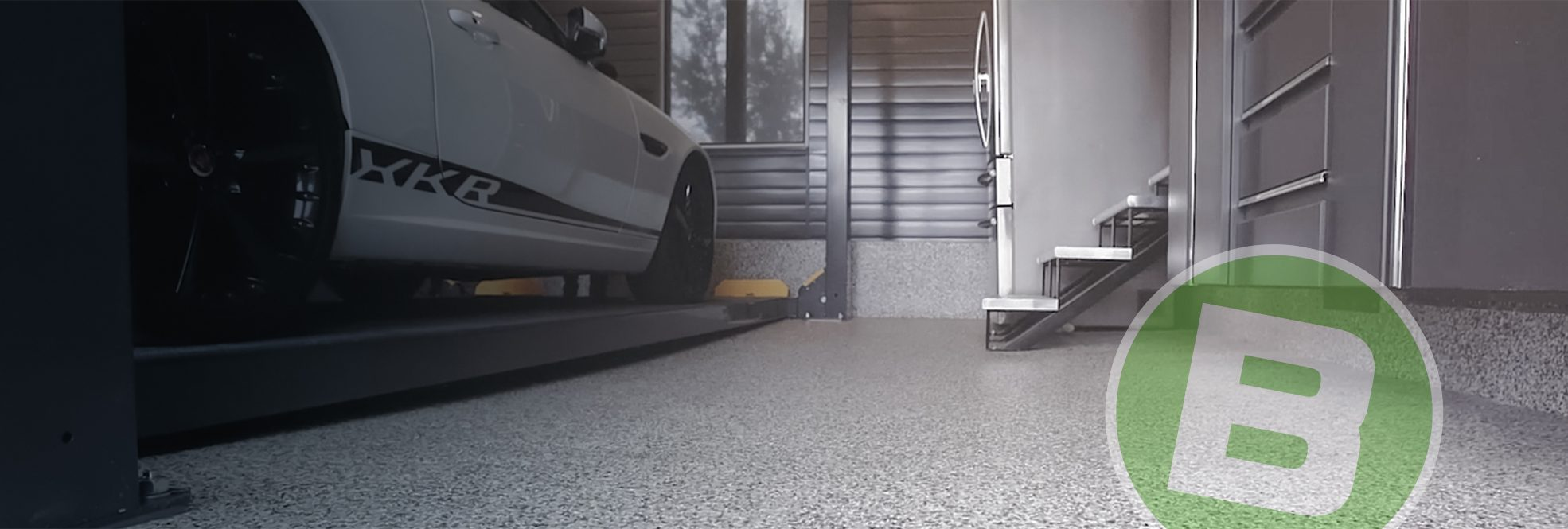 Beton Surface Plancher De Garage