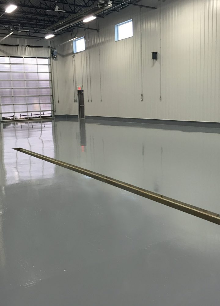 Dion-Peinture-Industrielle - High-strength non-silp epoxy floor